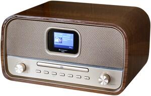 DAB970BR CD/Radio-System braun