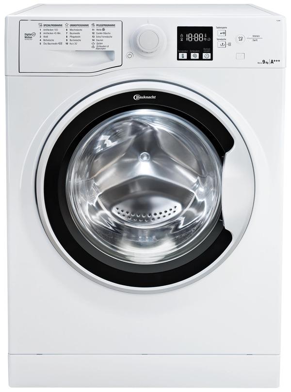 BAUKNECHT FL 9F4 Waschmaschine mit 1400 U/Min. in Weiß