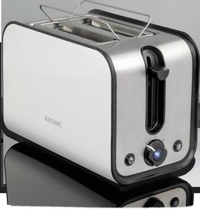 KOENIC KTO 2212 W Toaster in Edelstahl/Weiß