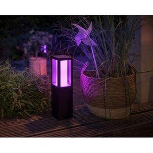 Philips Hue White & Color Ambiance Impress LED-Sockelleuchte Niedervolt EEK: A