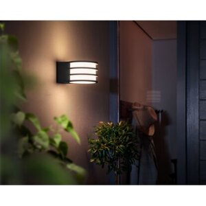Philips Hue LED-Wandleuchte Lucca Anthrazit EEK: A+