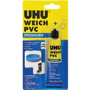 Uhu Weich PVC Spezialkleber Transparent 30 g