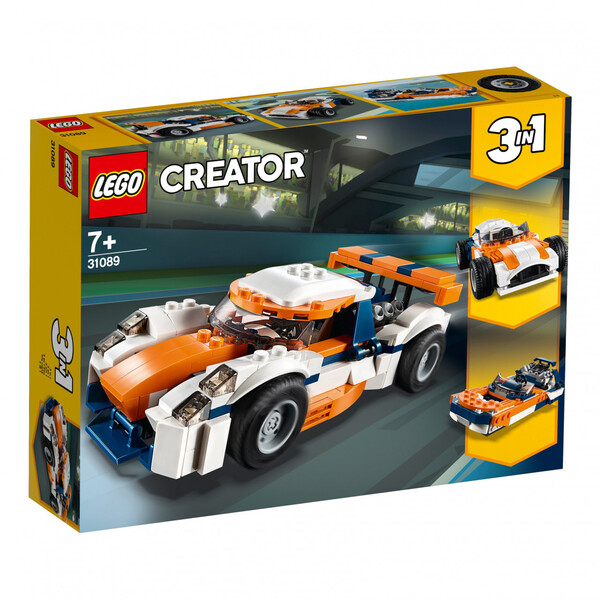 Lego Creator Rennwagen