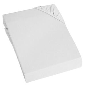 Home Ideas Living Jersey-Spannbetttuch, 100x200 cm, weiß