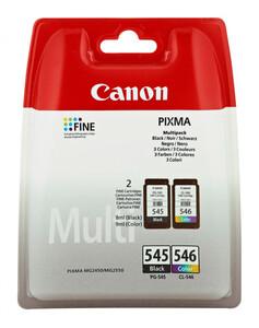 Canon PG-545/CL-546 BK/C/M/Y Tinte Multipack