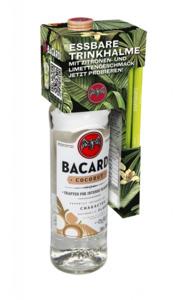 Barcardi Coconut mit Trinkhalmen