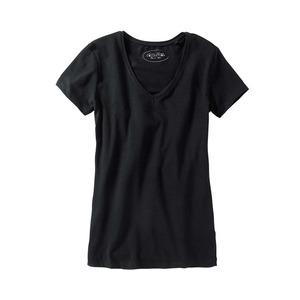 Damen T-Shirt mit V-Aussschnitt