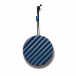 vifa City Bluetooth Lautsprecher mit NFC, spritzwassergeschütz terracotta blau