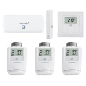 Homematic IP Starter Set Raumklima Smart Heizen WLAN