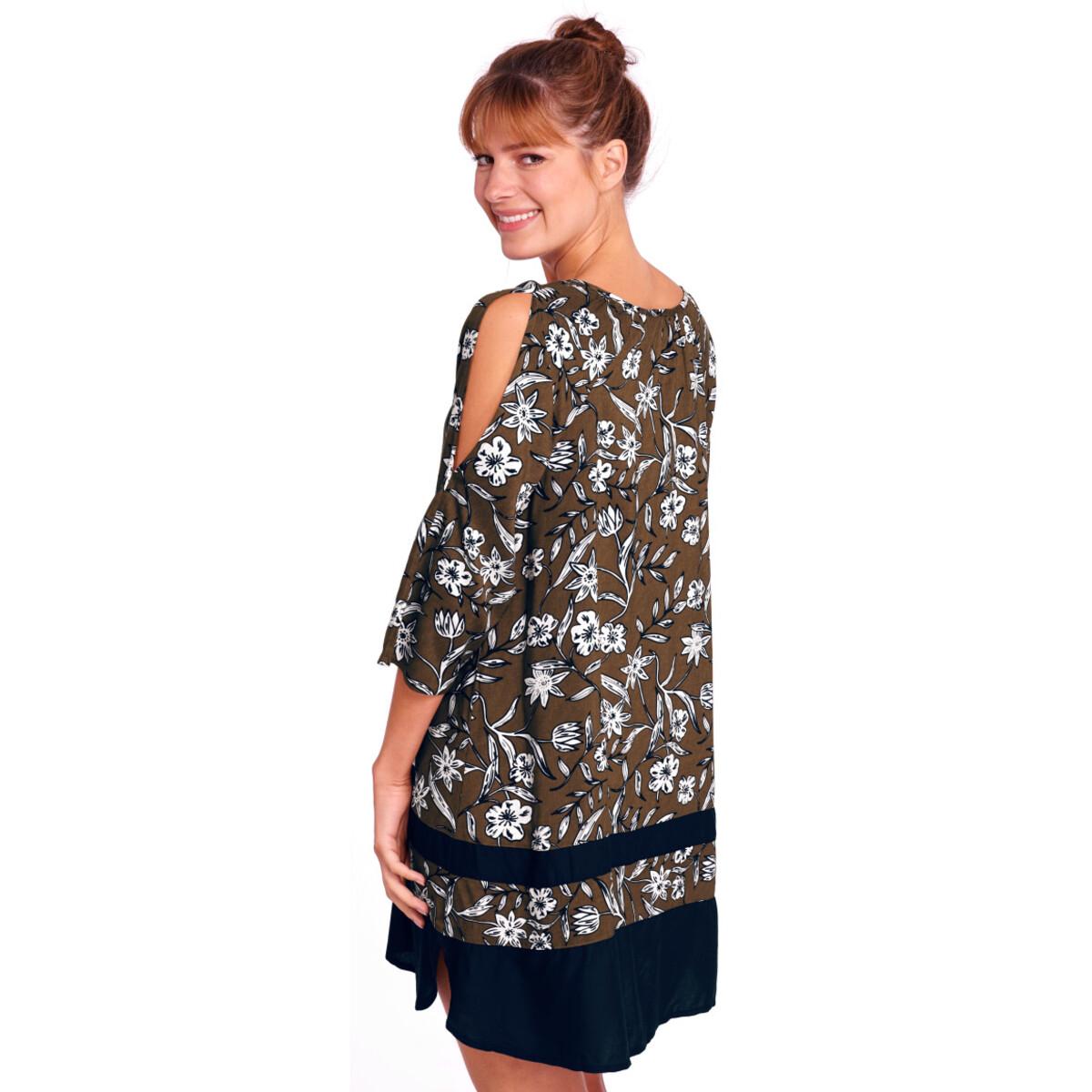 Bild 3 von Damen Kleid mit Allover-Print