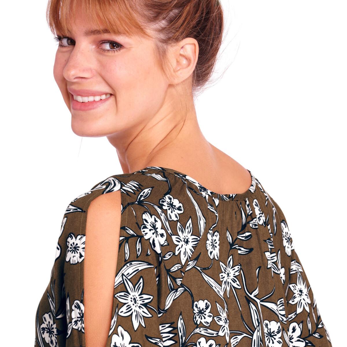 Bild 5 von Damen Kleid mit Allover-Print