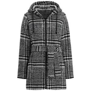 Damen Mantel mit Karomuster