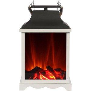 El Fuego Laterne mit Flammeneffekt AY0548