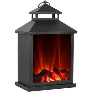 El Fuego Laterne mit Flammeneffekt AY0550