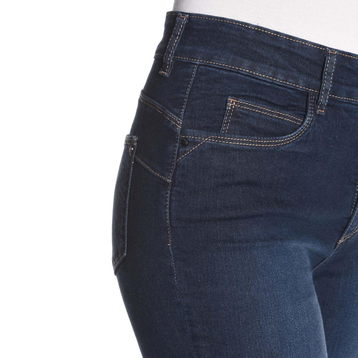 Bild 3 von Damen-Stooker-Jeans mit High-Waist-Cut, große Größen