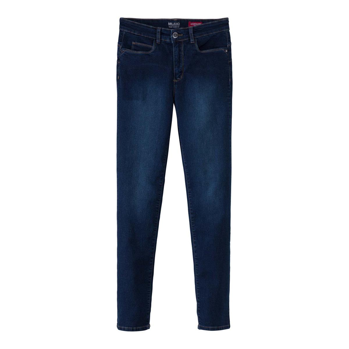 Bild 4 von Damen-Stooker-Jeans mit High-Waist-Cut, große Größen
