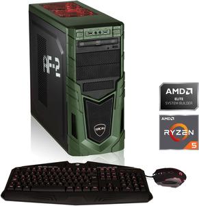 HYRICAN MILITARY GAMING 6398, Gaming-PC mit Ryzen 5 Prozessor, 16 GB RAM, 480 GB SSD, 1 TB HDD, Geforce® RTX 2060Super, 8 GB