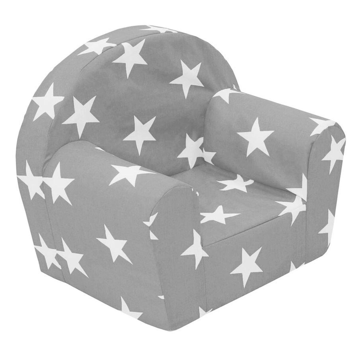Bild 1 von Kindersessel Sterne Hellgrau