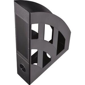 Kunststoff-Stehsammler A4 Schwarz