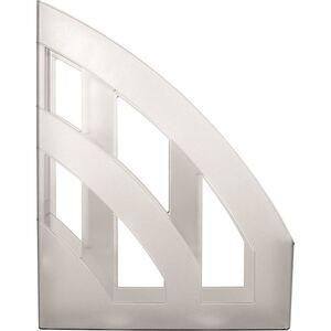Kunststoff-Stehsammler A4 Weiß-Transluzent