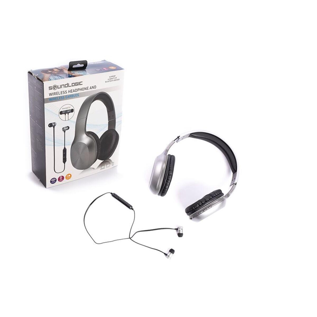 Bild 1 von Soundlogic 2in1 Bluetooth-Kopfhörer