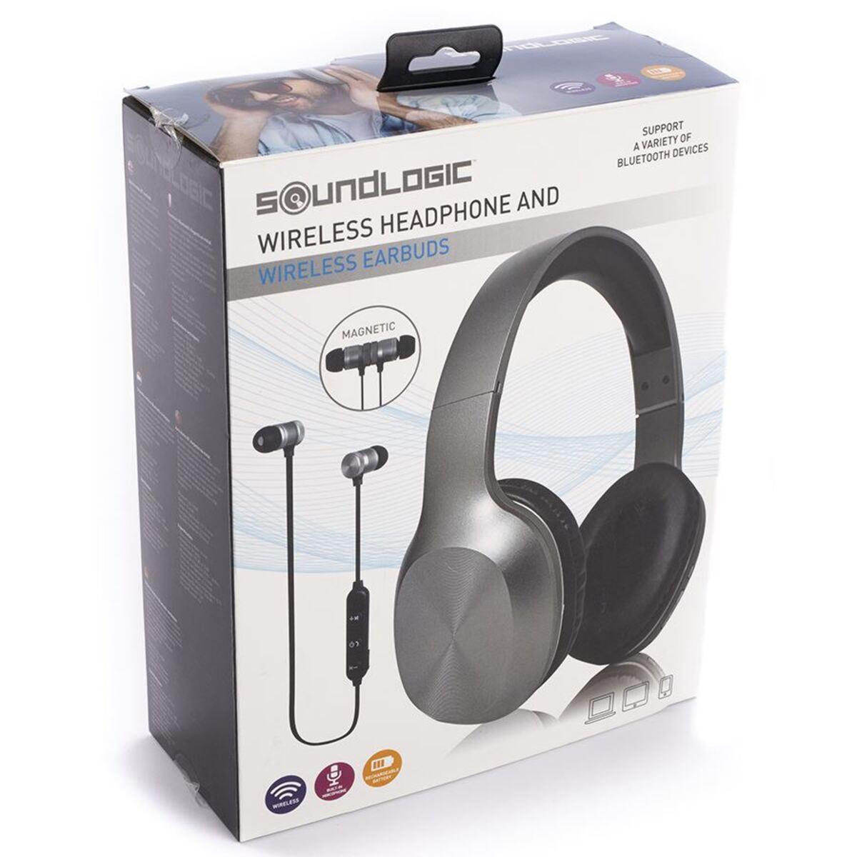 Bild 4 von Soundlogic 2in1 Bluetooth-Kopfhörer