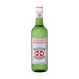 Malteserkreuz Aquavit 40 % Vol., jede 0,7-l-Flasche