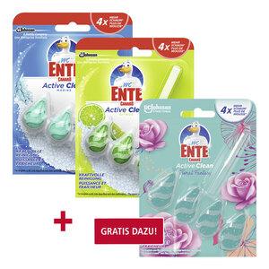 WC Ente Active Clean WC-Spüler versch. Sorten jede Packung