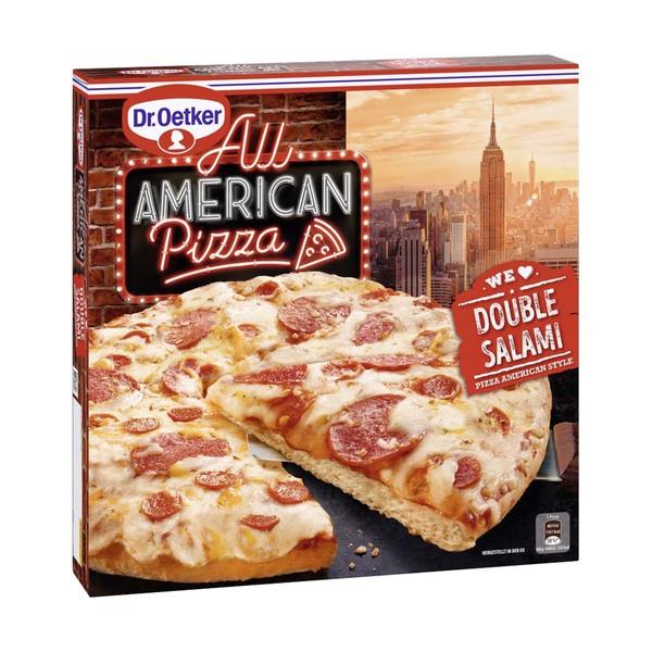 Dr. Oetker All American Pizza versch. Sorten, gefroren, jede 465/500-g-Packung