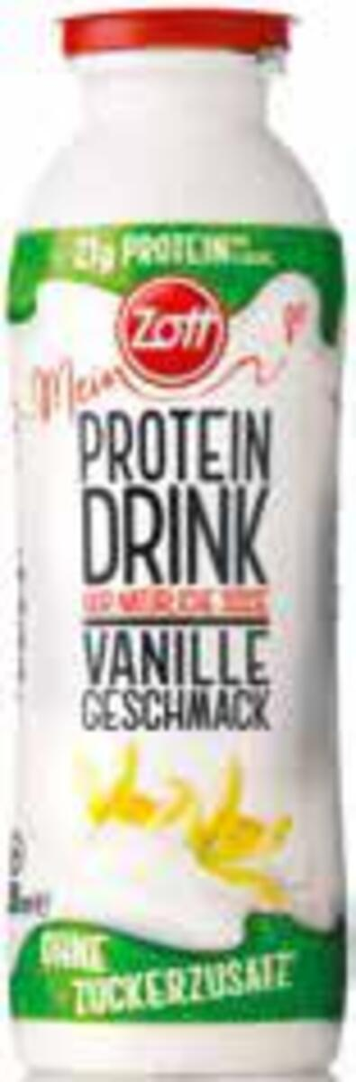 Bild 1 von Mein Zott Protein Drink ohne Zuckerzusatz