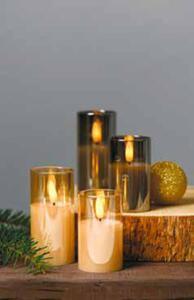 2er-Set LED-Kerzen im Glas