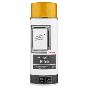 Sprühlack Metallic-Effekt glänzend 400 ml golden