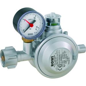 Gas-Druckregler 'Blue Flame' mit doppelter Überdrucksicherung