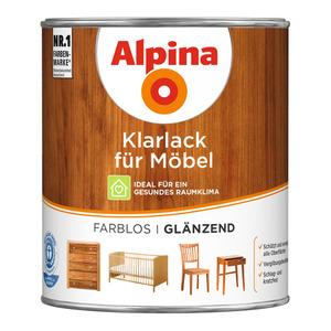 Alpina Klarlack für Möbel glänzend 0,75 l