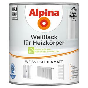 Alpina Weißlack für Heizkörper seidenmatt 750 ml