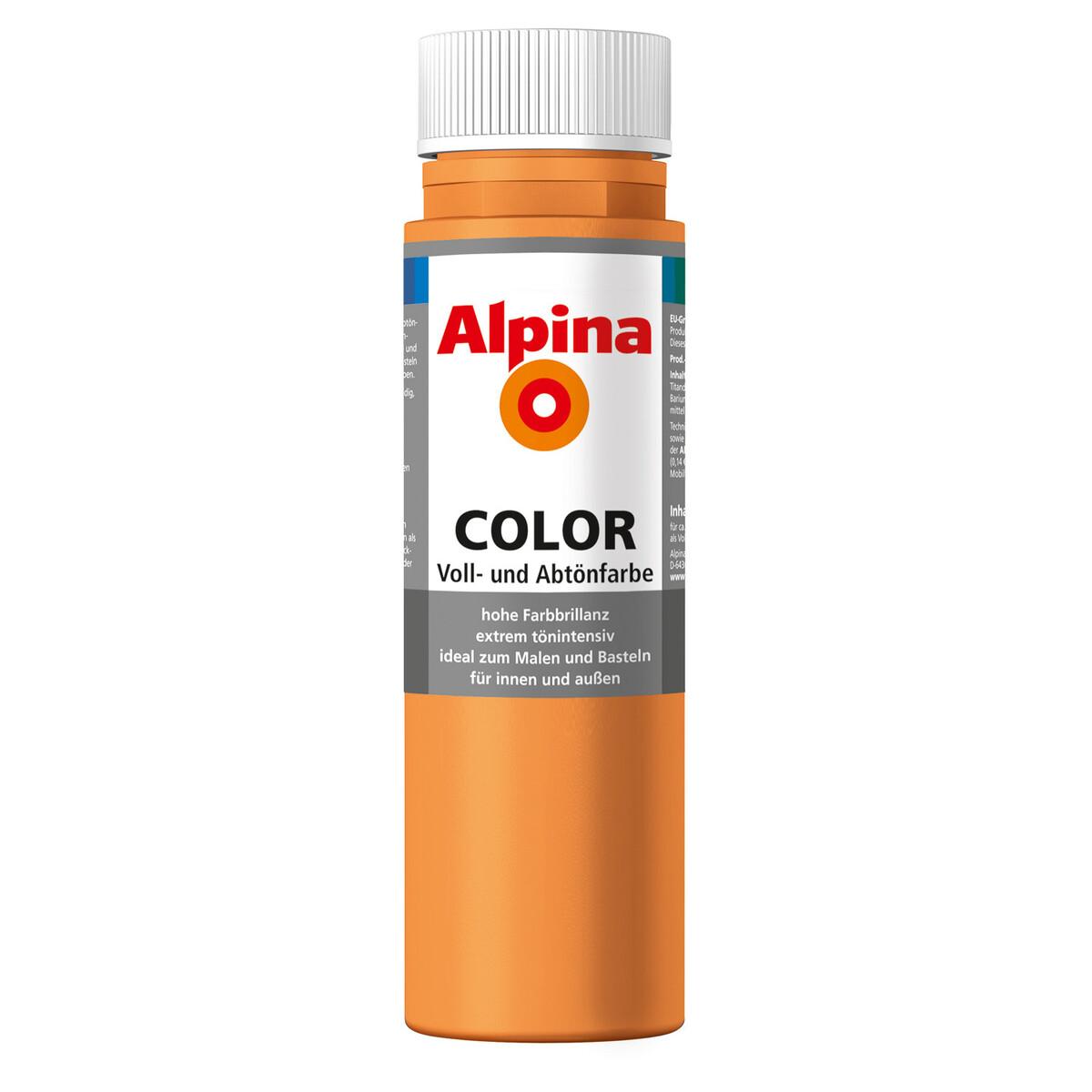 Bild 2 von Alpina Color Voll- und Abtönfarbe 'Fresh Orange' seidenmatt 250 ml