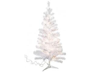 LED-Weihnachtsbaum weiß ca. 90 cm hoch