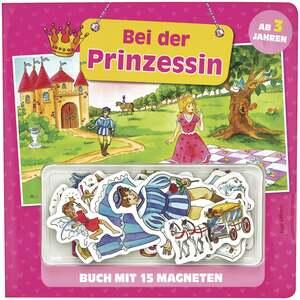 IDEENWELT Kindermagnetbuch Bei der Prinzessin