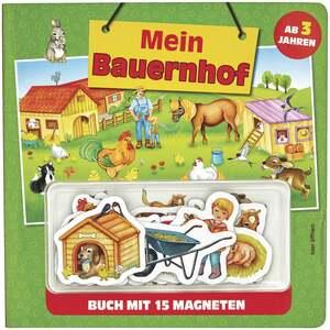 IDEENWELT Kindermagnetbuch Mein Bauernhof