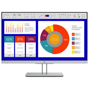 HP EliteDisplay E243p - 60,45 cm (23,8 Zoll), LED, IPS-Panel, Sure View, Höhenverstellung, DisplayPort
