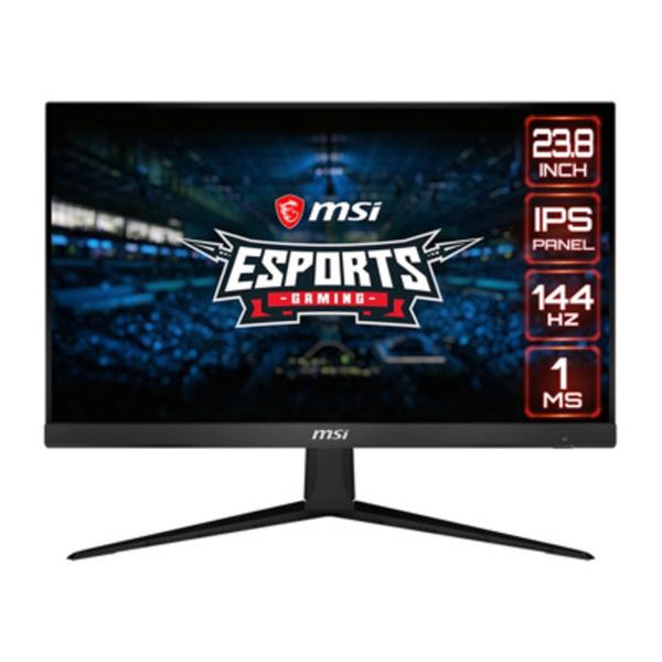 MSI Optix G241-013 - 60 cm (23,8 Zoll), LED, IPS-Panel, 144Hz, 1ms, AMD FreeSync, DisplayPort, 2x HDMI