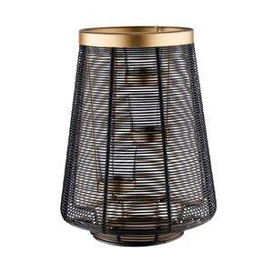 TRIPLE Windlicht für 3 Teelichter H 26cm