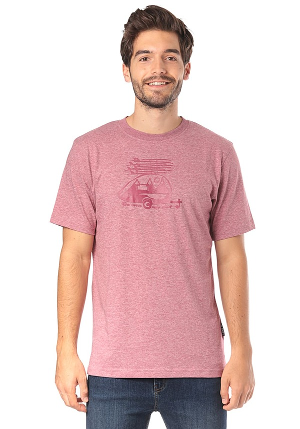 PLANET SPORTS Trailer - T-Shirt für Herren - Pink