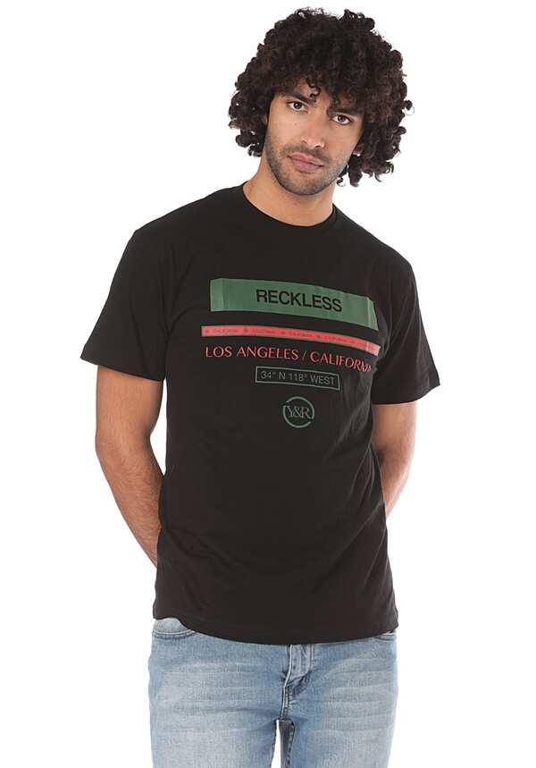 Young and Reckless Classy - T-Shirt für Herren - Schwarz
