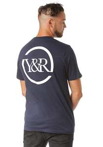 Young and Reckless Circle Up - T-Shirt für Herren - Blau