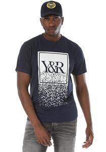 Young and Reckless Trademark Crumble - T-Shirt für Herren - Blau