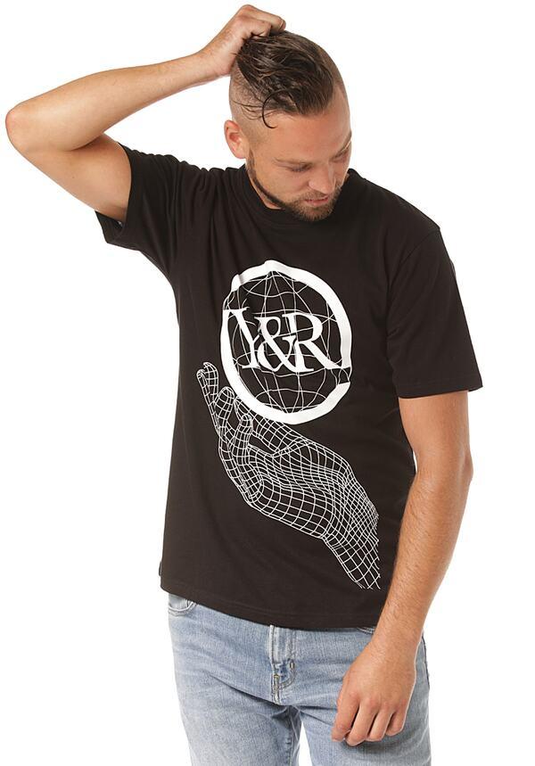 Young and Reckless Mainframe - T-Shirt für Herren - Schwarz