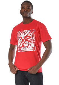 Young and Reckless Square Logo Griffon - T-Shirt für Herren - Rot