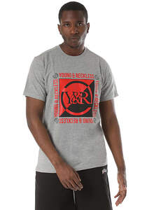 Young and Reckless Section - T-Shirt für Herren - Grau
