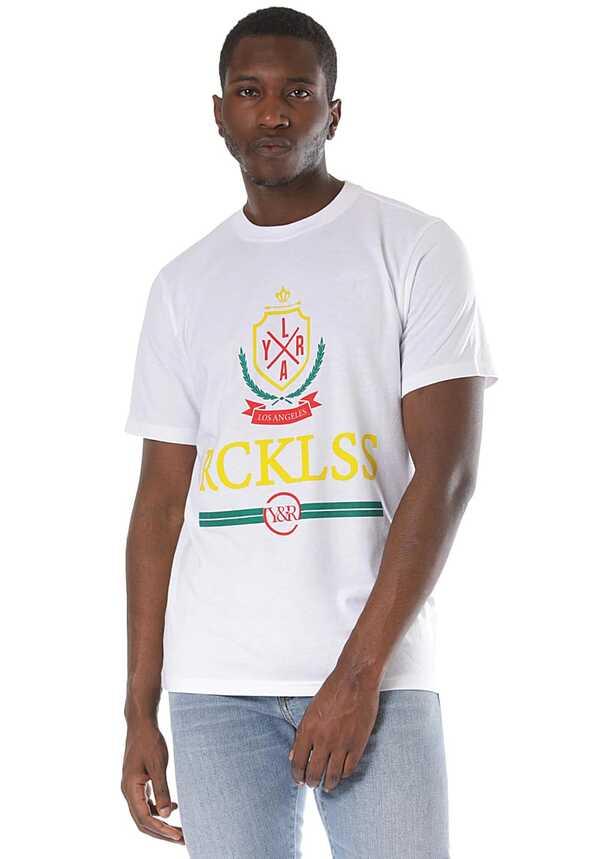 Young and Reckless Vailant - T-Shirt für Herren - Weiß